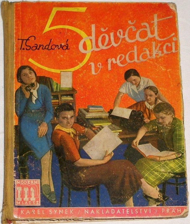 Sandová T. - Pět děvčat v redakci