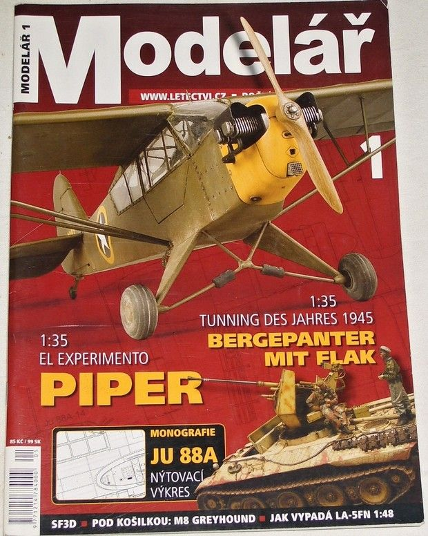 Modelář 1/2007 - ročník 58