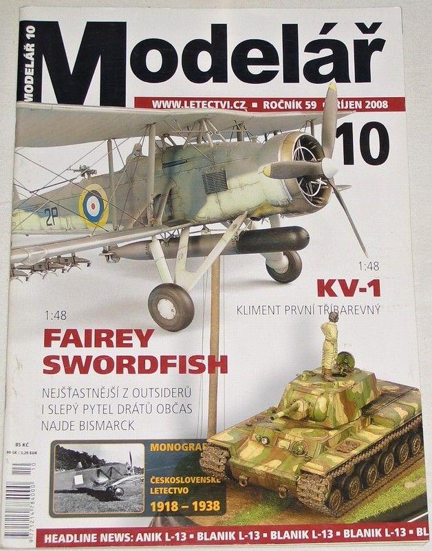 Modelář 10/2008 - ročník 59