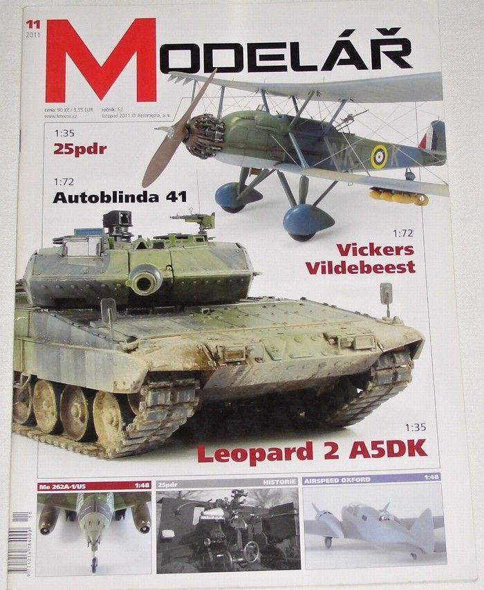Modelář 11/2011 - ročník 62