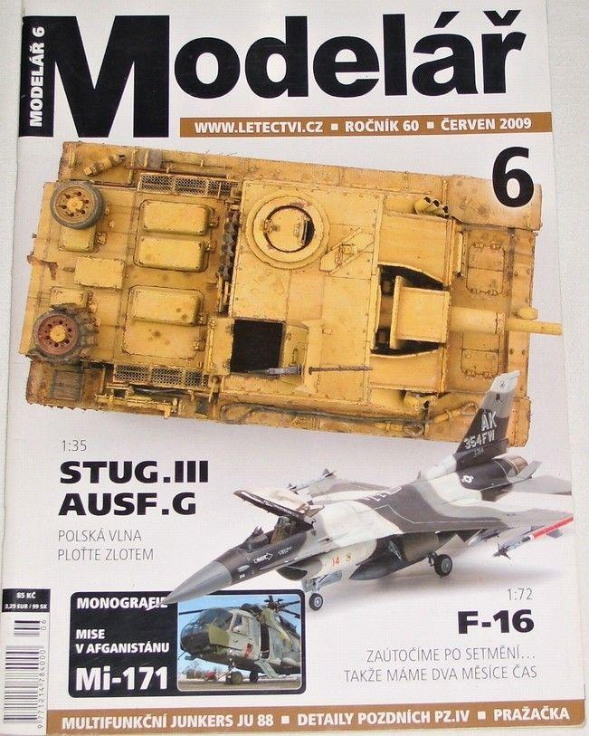 Modelář 6/2009 - ročník 60