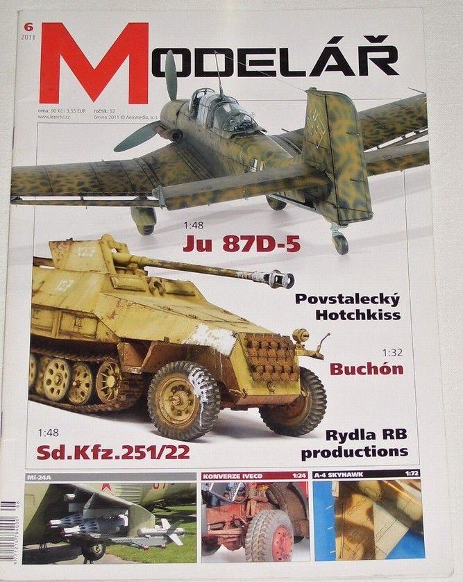 Modelář 6/2011 - ročník 62