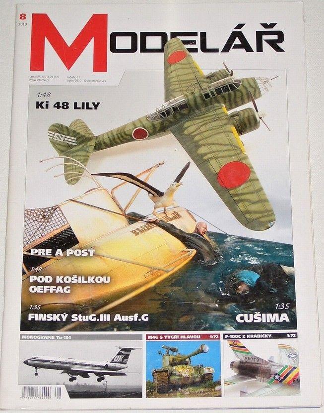 Modelář 8/2010 - ročník 61