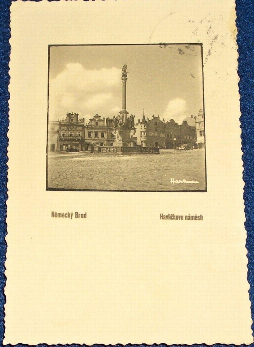 Německý Brod: Havlíčkovo náměstí (1937)