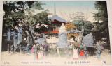 Japonsko Osaka: Temple Am.daike, cca 1900