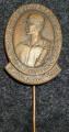 odznak Prací bojujeme za mír: slavnost KV KSČ Ústí nad Labem 1950