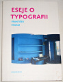 Štorm František - Eseje o typografii