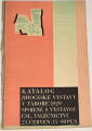 Katalog Jihočeské výstavy v Táboře 1929