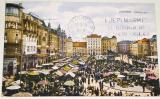 Chorvatsko:  Zagreb  Jelačičev trg
