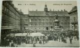 Rakousko  Wien K. k. Hofburg: výměna hradní stráže