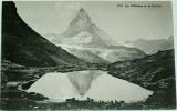 Alpy: Le Riffelsee et le Cervin (ledovcové jezírko)