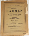 Carmen (Opera o čtyřech dějstvích)