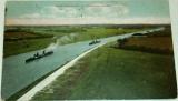 Kiel: Kaiser-Wilhelm Kanal s parníky 1908