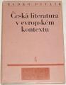 Pytlík Radko - Česká literatura v evropském kontextu