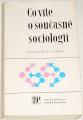 Zich František - Co víte o současné sociologii?