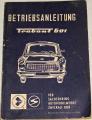 Betriebsanleitung - Trabant 601