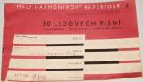 Malý harmonikový repertoár 50 lidových písní