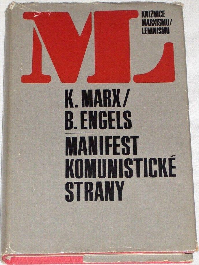 Marx Karel, Engels Bedřich - Manifest Komunistické strany