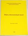 Sojka Milan - Dějiny ekonomických teorií