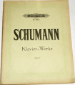 Schumann - Klavier Werke Band V.