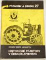 Tempír Zdeněk - Historické traktory v Československu