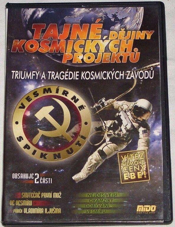 DVD Tajné dějiny kosmických projektů