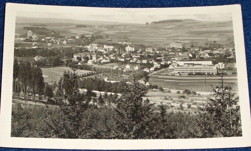 Humpolec celkový pohled 1954