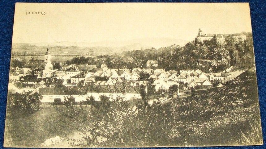 Javorník (Jauernig) celkový pohled, 1922