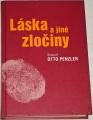 Penzler Otto - Láska a jiné zločiny