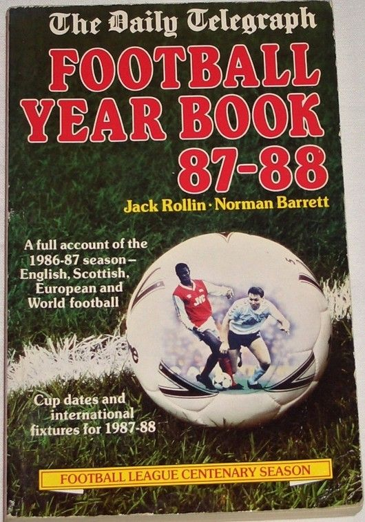 Rollin Jack, Barrett Norman - Football Year Book 87-88