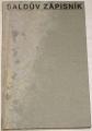 Šaldův zápisník IX. (1936-1937)