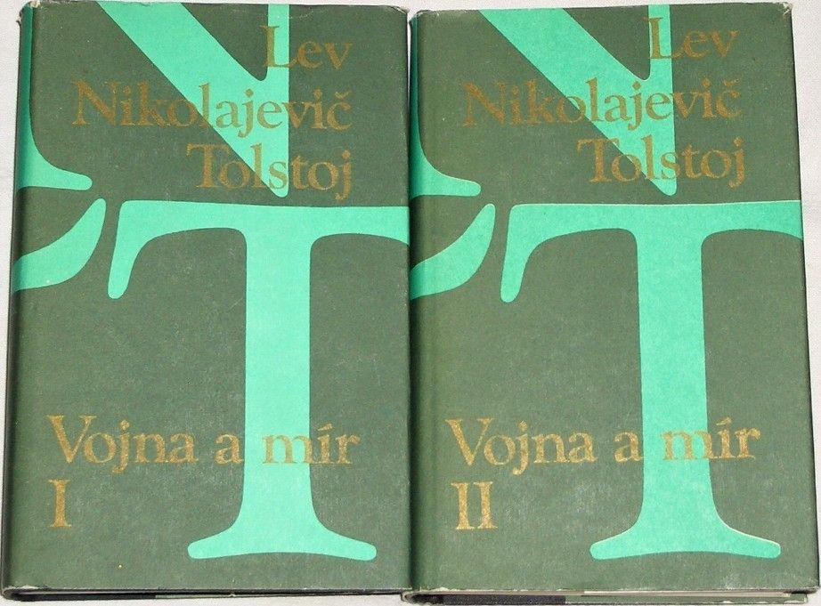 Tolstoj Lev Nikolajevič - Vojna a mír 1. a 2. díl