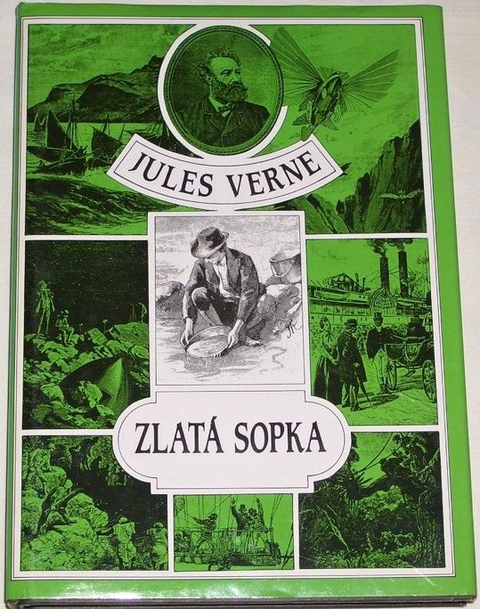 Verne Jules - Zlatá sopka