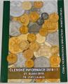 Česká numismatická společnost - Členské informace 2018/1