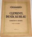 Clementi, Dusík, Kuhlau - Sonatiny a ronda