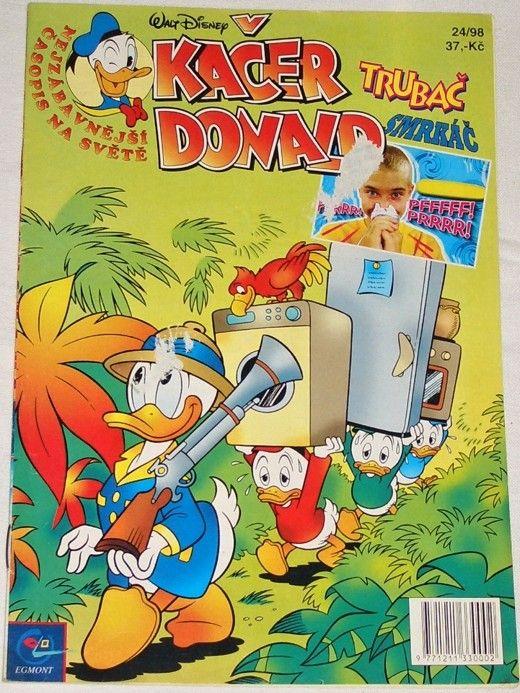 Disney W. - Kačer Donald 24/98