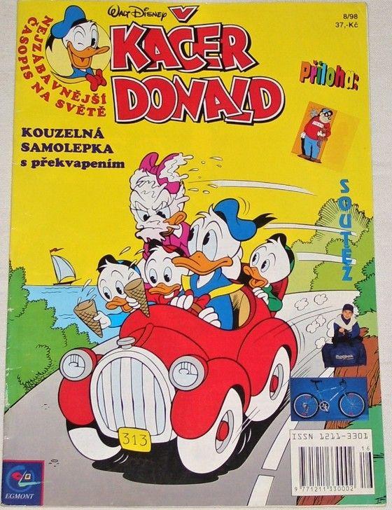 Disney W. - Kačer Donald 8/98