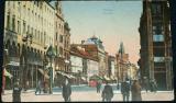 Praha Příkopy, lidé na ulici, kolem r. 1920