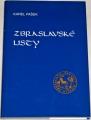 Pašek Karel - Zbraslavské listy