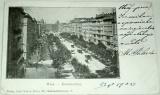Rakousko:  Wien Kärntnerring  1902