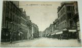 Francie, Cherbourg: La Rue Gambetta, 1919