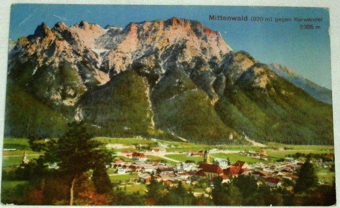 Německo: Mittenwald 1921