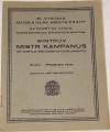 Novotný Antonín - Wintrův Mistr Kampanus ve světle soudobých dokumentů