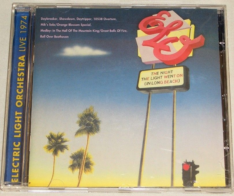 CD Electric Light Orchestra: The Night the Light Went on