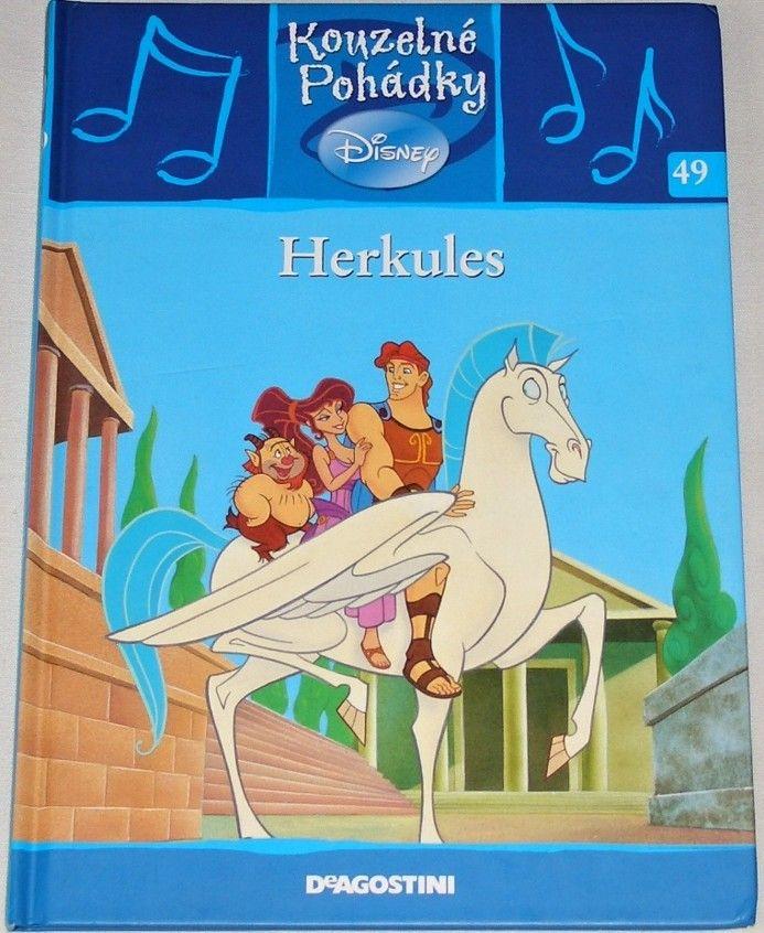 Disney - Herkules (Kouzelné pohádky 49)
