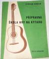 Urban Štěpán - Přípravná škola hry na kytaru