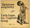 Machač Jan - Zpíváme anglicky / Let´s an English song