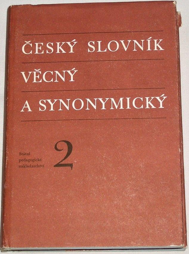 Český slovník věcný a synonymický 2