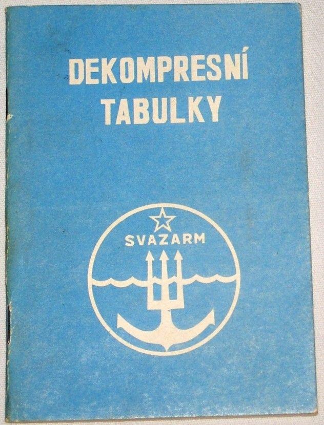 Dekompresní tabulky (pro potápění se vzduchovými přístroji)