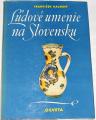 Kalesný František - Ľudové umenie na Slovensku